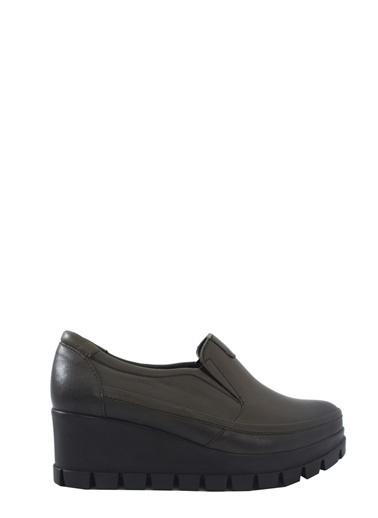 Derigo Haki Kadın Comfort Ayakkabı 528080 Haki